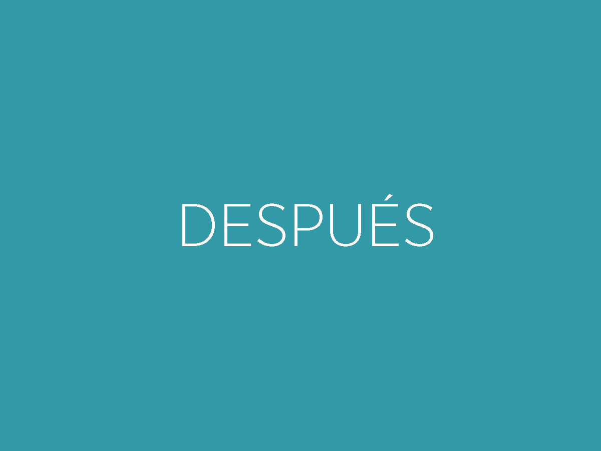 DESPUES
